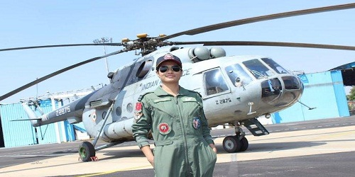 Hina Jaiswal became the first Indian Woman Flight Engineer