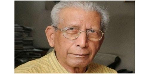 Hindi author and literary critic Namwar Singh