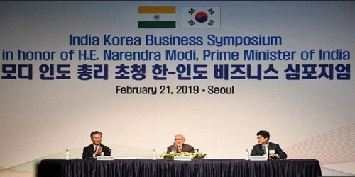 India-South Korea Business Symposium