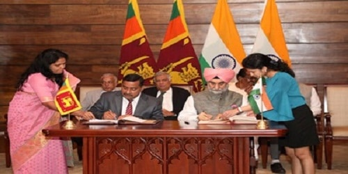 India, Sri Lanka ink MoU to establish business centre