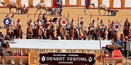 International Annual Desert Festival begins in Jaisalmer