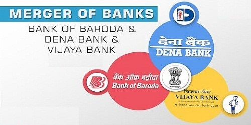 Merger of Vijaya Bank and Dena Bank with BoB (Bank of Baroda)