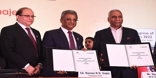 MoU was signed between ICAI and Invest India to promote Foreign Investment
