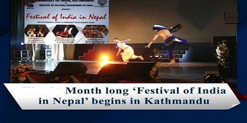 Month-long 'Festival of India' begins in Nepal