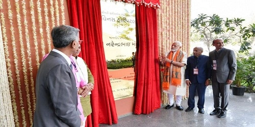 PM inaugurates state-of-the-art Hospital in Surat