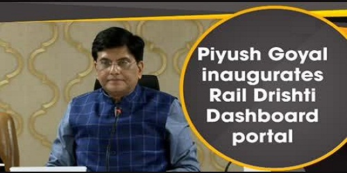 Piyush Goyal launched Rail Drishti Dashboard