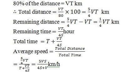 Time and Distance Q2