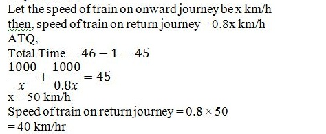 Time and Distance Q5