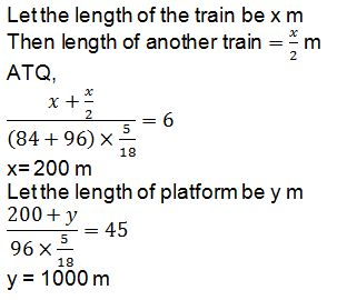 Time and Distance Q7