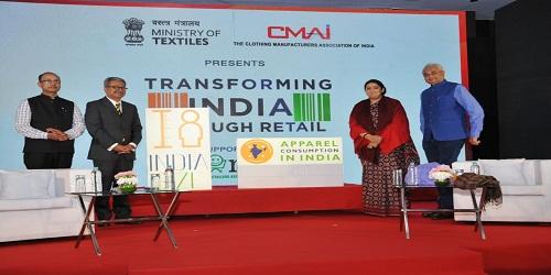 Union Minister Smriti Irani launches India Size project in Mumbai