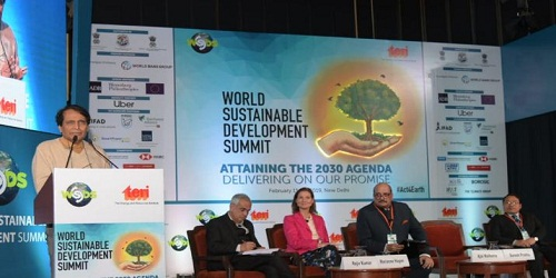 World Sustainable Development Summit 2019 held at New Delhi