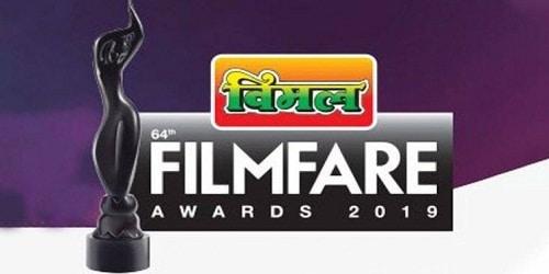 64th Film fare Awards 2019