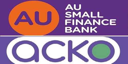 AU Small Finance Bank partnered with Acko General Insurance