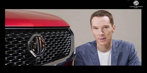 Benedict Cumberbatch- MG Motors for India