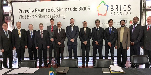 Brazil hosted first BRICS Sherpa Meeting
