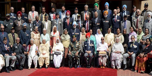 Convention of War Decorated India held in Chandigarh