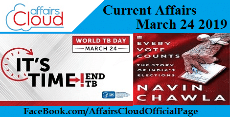 Current Affairs March 24 2019
