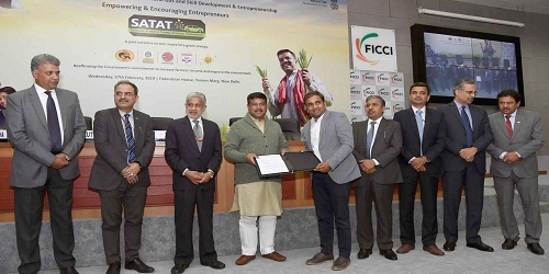 Dharmendra Pradhan has hand over the 100th Letter of Intent to CBG Entrepreneur