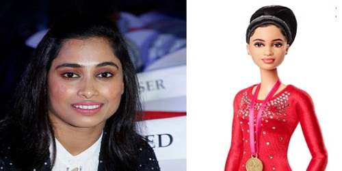 Dipa Karmakar honoured with barbie doll modelled after her
