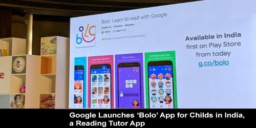 Google launches Bolo app