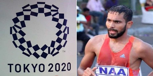 K. T. Irfan became first Indian athlete