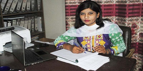 Krishna Kumari Kohli becomes the first Thari Hindu woman to be elected to the Senate of Pakistan
