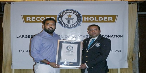 Lakshyaraj Singh Mewar set Guinness World Record