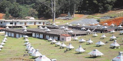 Ooty's muon detection facility