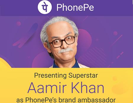 PhonePe - Aamir Khan