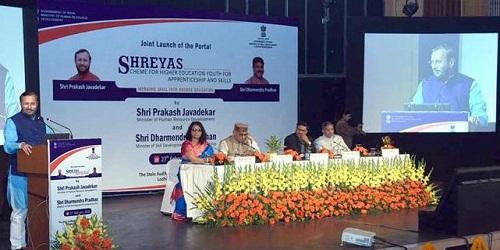 SHREYAS portal launched by Prakash Javadeka