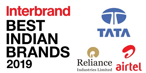 Tata, Reliance and Airtel ranked as top 3 Indian brands of 2019