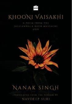 A Book of poem Khooni Vaisakhi