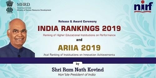 ARIIA 2019 Rankings