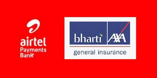 Airtel Payments Bank joined hands with Bharti AXA General Insurance