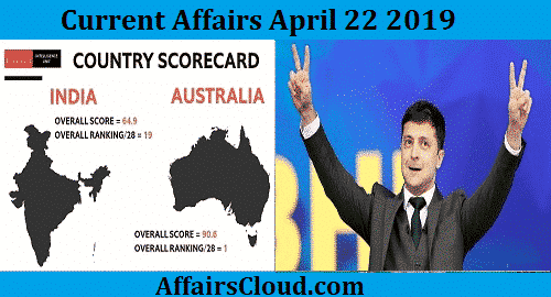 Current Affairs Today April 22 2019