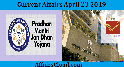 Current Affairs Today April 23 2019