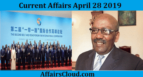 Current Affairs Today April 28 2019