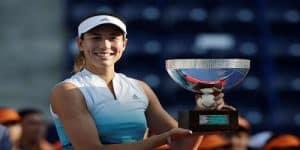 Garbine Muguruza Monterrey Open title