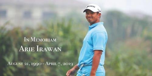 Golfer Arie Irawan