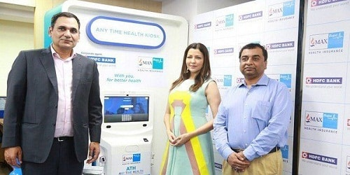 HDFC Bank and Max Bupa launch AnyTimeHealth machines