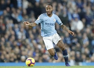 Manchester City Forward Raheem Sterling