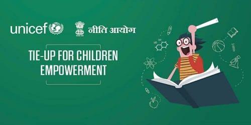 NITI Aayog , UNICEF signed a LOI