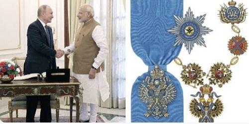 PM Narendra Modi - Russia's highest State Honour