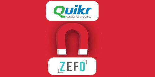 Quikr acquired Zefo
