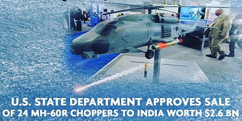 US 'Romeo' Seahawk helicopters to India