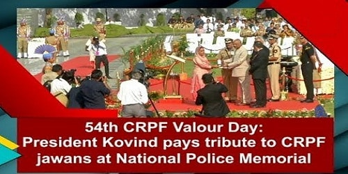 Valour Day of CRPF