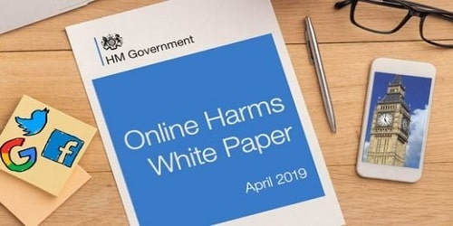 'white paper' - 'online harms'