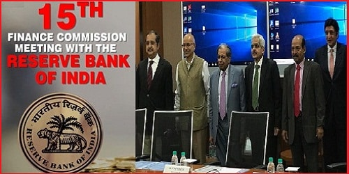 15th Finance Commission- RBI and Banks & Financial Institutions