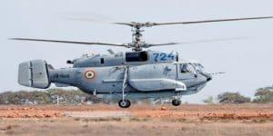 3,600 crore deal for 10 'Kamov Ka-31' Helicopters