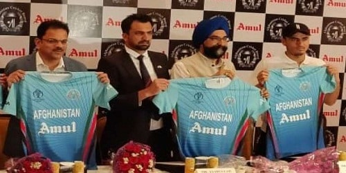 Amul to sponsor Afghanistan in Cricket World Cup